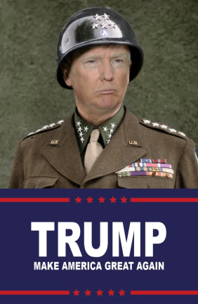 TrumpDressedMilitary